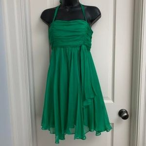 Alice + Olivia Green Dress